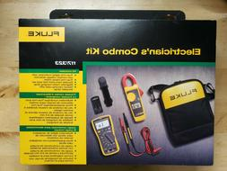 Fluke 117 / 323 Kit Multimeter and Clamp Meter - New in Seal