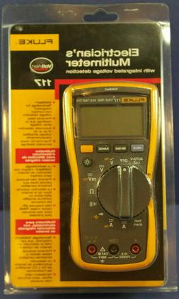 Fluke 117 Electrician's Multimeter with Non-Contact   **New