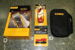 Fluke 177 Multimeter with TL221, AC175, TP88 and C35 Accesso