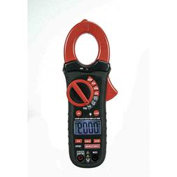 Craftsman 400A AC/DC True RMS Clamp Multimeter W/ Leads 9V B