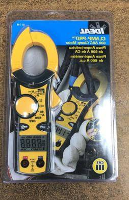 Ideal 61-744 Clamp-Pro Clamp Meter 600 Amp brand NEW sealed