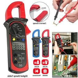 Digital Multimeter Tester AC DC Volt Ohm Amp Clamp Meter Aut