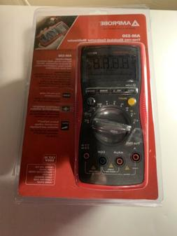 Amprobe Multimeter, TrueRMS Electrical Contractor w/ NonCont