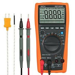 Proster Auto-Ranging Multi Testers Digital Multimeter 6000 C