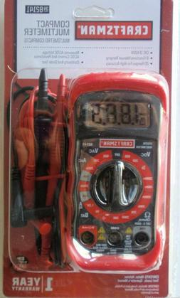 $AVE Craftsman Multimeter, Digital, with 8 Functions & 20 Ra
