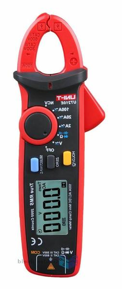 Clamp Meter Multimeter Handheld RMS DC/AC Mini ResistancUNI-