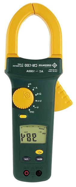 GREENLEE CM-1300 Clamp Multimeter AC 1000A - NEW -