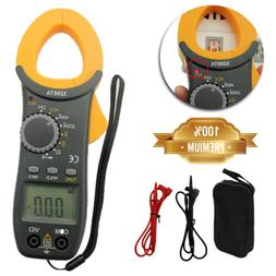 Digital Clamp Meter Tester AC / DC Volt Amp Multimeter Auto