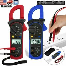 Digital Meter Multimeter AC DC Voltmeter Clamp Auto Range Vo
