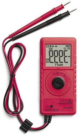 Amprobe Pocket Digital Multimeter with Frequency and Capacit