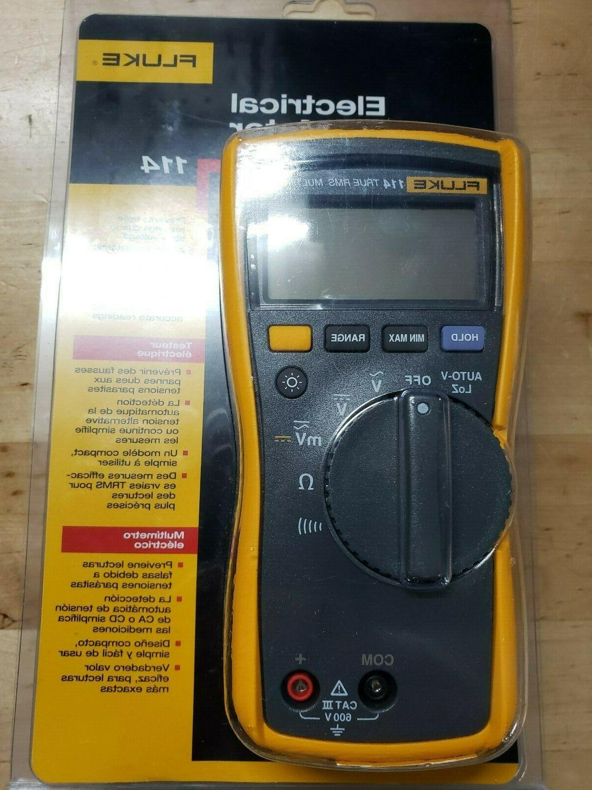 114 true rms multimeter new in sealed