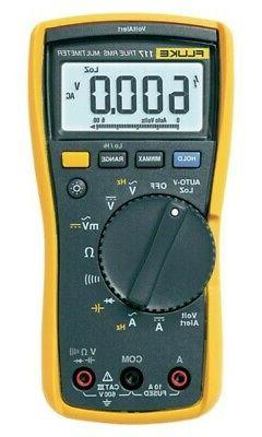 Fluke 117 Multimeter with non-contact voltage for electricia