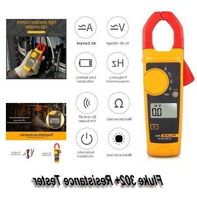 302 automatic resistance tester hd clip on