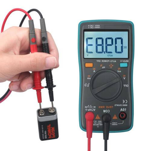 6000counts TRMS AC/DC Auto Current Meter