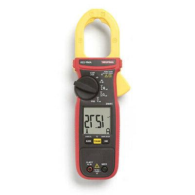 AMPROBE AMP-220 Clamp Meter, 600A, 1-3/8in Jaw Capacity