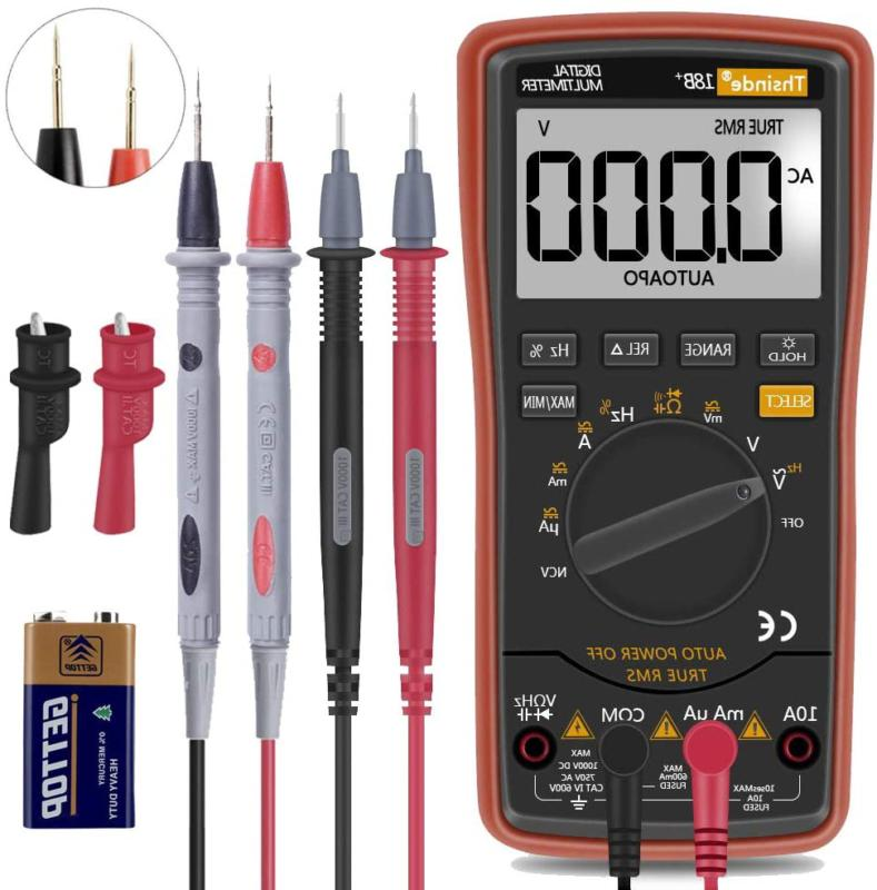Auto Ranging Digital Multimeter TRMS 6000 with Battery Allig