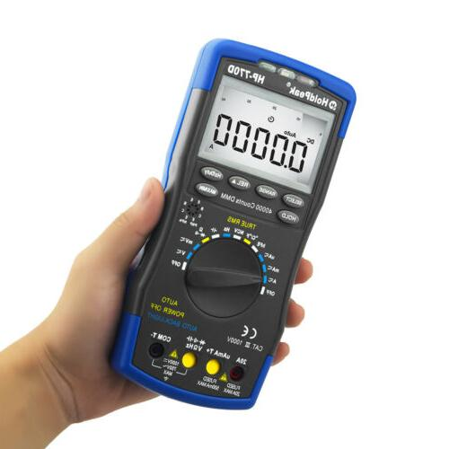 Digital Multimeter High DC Ohmmeter Ture RMS NCV