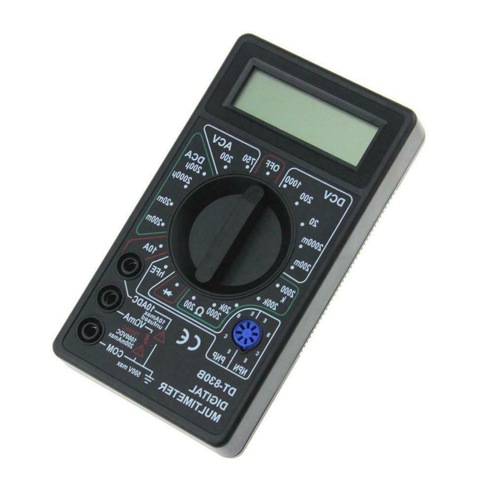 Digital Voltmeter Ohmmeter Electrical Testers DT830B New