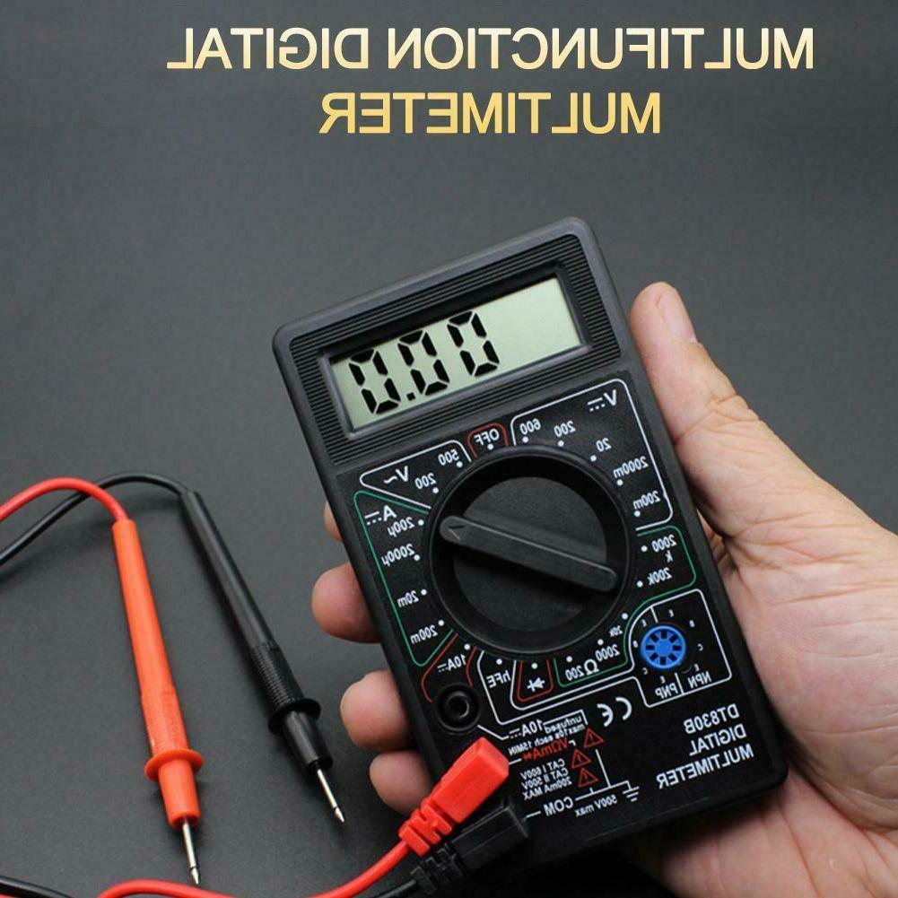 digital multimeter ac dc voltmeter ohmmeter electrical