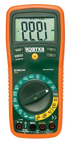 Extech EX-410 Multimeter Manual-Ranging DMM 2000 Count
