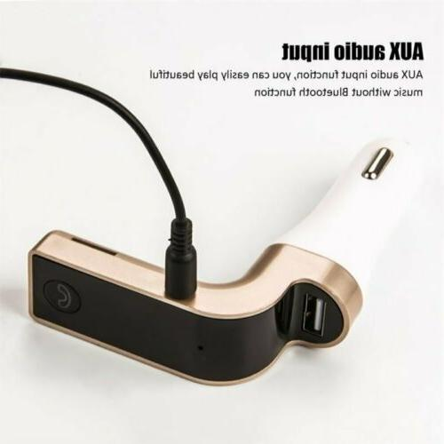 G7 Car Kit Hands-free USB Charger MP3