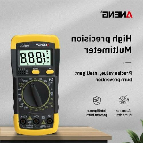 a830l lcd digital multimeter 1999 dc ac