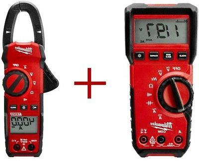 Milwaukee Digital Multimeter With 400-Amp Clamp Electrical T