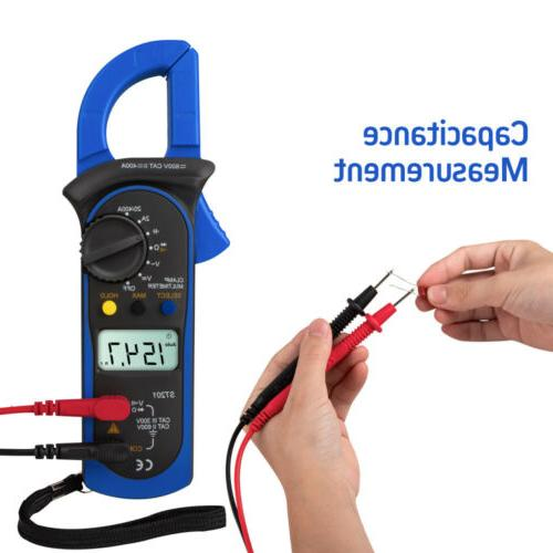 Digital Clamp Meter Tester Multimeter Amp AC / DC Volt Auto