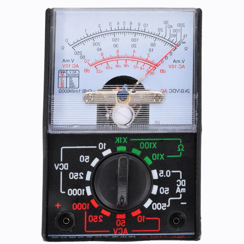 Analogue Multimeter Volts Electrical Circuit Multi Test