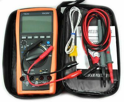 VC97A 3999 True RMS Digital Multimeter auto range DMM AC DC