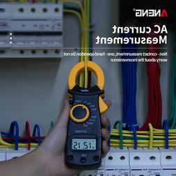 LCD Digital Clamp Meter Tester AC / DC Volt Amp Multimeter A
