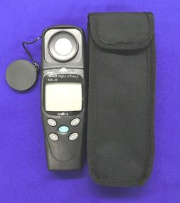 Lux/Fc Light Meter:Multi-Data/Max Meas.Lights-ALL Visible Fo