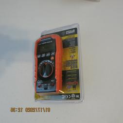 Klein Tools MM400 Digital Multimeter Auto Ranging 600V AC DC