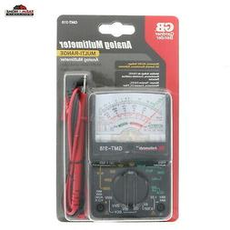 Multimeter Analog 14 Range Electrical Test Tool ~ New