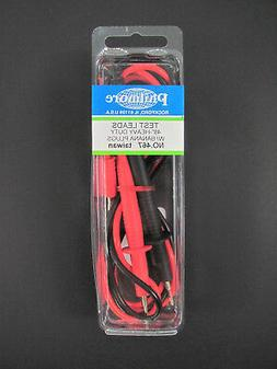 Multimeter Test Leads w/ Banana Plugs - 4' / 1.2m - Red/Blac