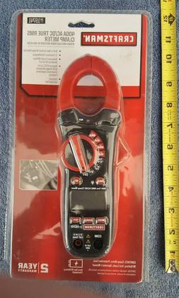 NEW CRAFTSMAN 400A AC/DC TRUE RMS CLAMP MULTIMETER W/NCV DET