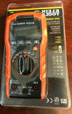 NEW!! Klein Tools Auto-Ranging Digital Multimeter 600V