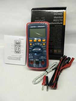 NEW AstroAI Digital Multimeter DMM Tester TRMS 4000 Counts B