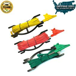 Test Lead for Earth Ground Resistance Tester Meter Red Yello