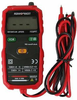 TekPower TP8231 2000 Counts Digital Multimeter with Non Cont