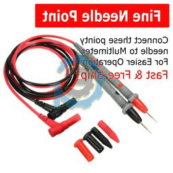 High Quality 2 Pair Universal Probe Test Leads Pin For Digit