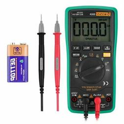 WINHY Digital Multimeter Auto-Ranging with LCD Display with